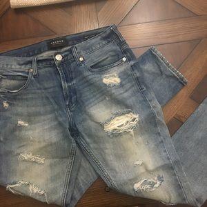 PacSun Destressed Blue Jeans 30 x 30